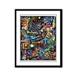 Abstract-Believe 1 Framed Panel Print