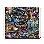 Abstract-Believe 1 Mousepad