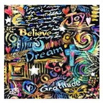 Abstract-Believe 1 5.25 x 5.25 Flat Cards