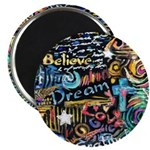 Abstract-Believe 1 Magnet