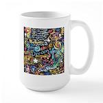 Abstract-Believe 1 Large Mug