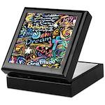 Abstract-Believe 1 Keepsake Box