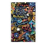 Abstract-Believe 1 Postcards (Package of 8)