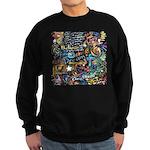 Abstract-Believe 1 Sweatshirt (dark)