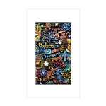 Abstract-Believe 1 Sticker (Rectangle 10 pk)