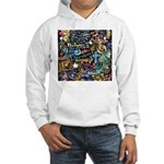 Abstract-Believe 1 Hooded Sweatshirt