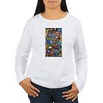 Abstract-Believe 1 Women's Long Sleeve T-Shirt