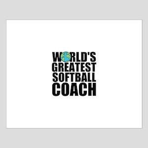 World's Greatest Softball Coach Posters