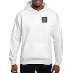 Pragmatic Plum Initials Hooded Sweatshirt