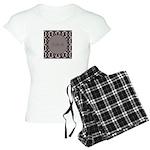 Pragmatic Plum Initials Women's Light Pajamas