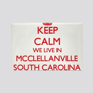 Keep calm we live in Mcclellanville South Magnets