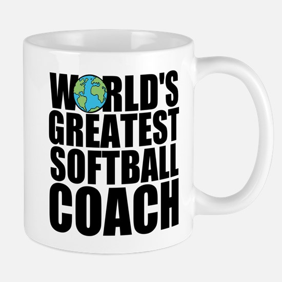 World's Greatest Softball Coach Mugs