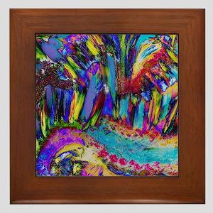 An explosion of joy Framed Tile