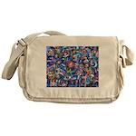Star Swirl Messenger Bag