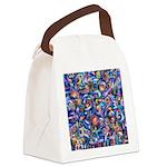 Star Swirl Canvas Lunch Bag