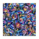 Star Swirl Tile Coaster