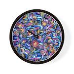 Star Swirl Wall Clock