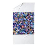 Star Swirl Beach Towel