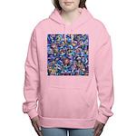 Star Swirl Women's Hooded Sweatshirt
