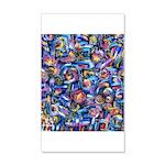 Star Swirl 35x21 Wall Decal