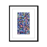 Star Swirl Framed Panel Print