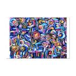 Star Swirl Mini Poster Print