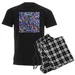Star Swirl Men's Dark Pajamas