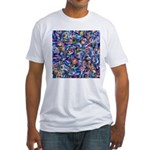 Star Swirl Fitted T-Shirt