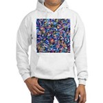 Star Swirl Hooded Sweatshirt