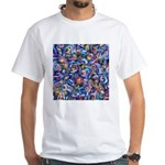 Star Swirl White T-Shirt