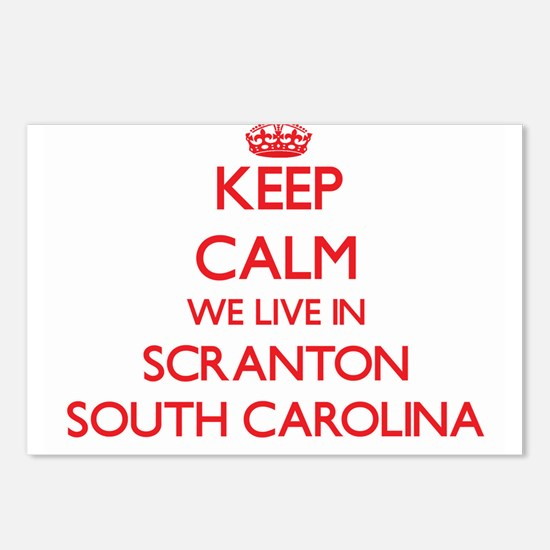 Keep calm we live in Scra Postcards (Package of 8)