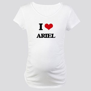 I Love Ariel Maternity T-Shirt
