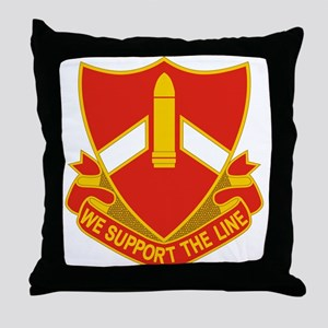 28 Field Artillery Regiment Throw Pillow