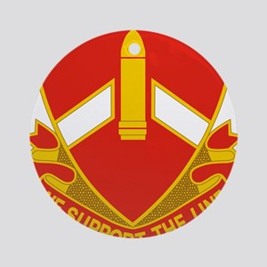 28 Field Artillery Regiment.p Ornament (Round)