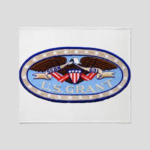 USS ULYSSES S. GRANT Throw Blanket