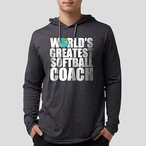 World's Greatest Softball Coach Long Sleeve T-