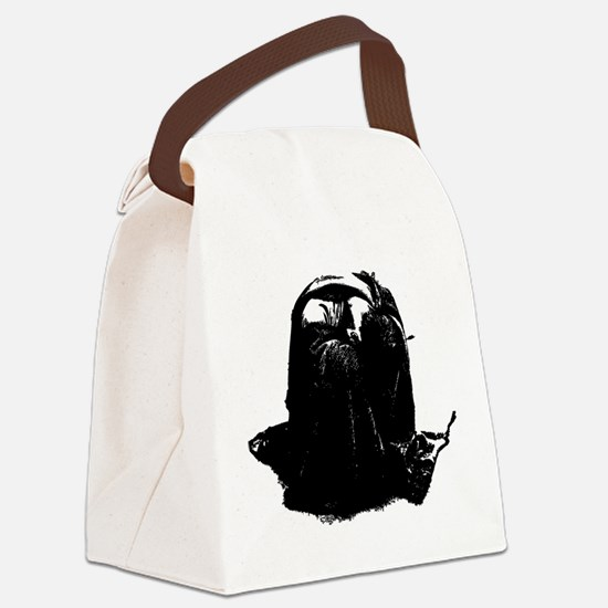 Lonely Canvas Lunch Bag