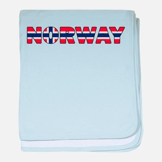 Norway 001 baby blanket
