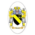 Isaacs Sticker (Oval 50 pk)