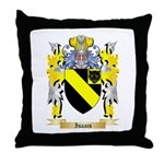 Isaacs Throw Pillow