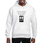 Crohn's Disease Hooded Sweatshirt
