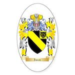 Isaac Sticker (Oval 10 pk)