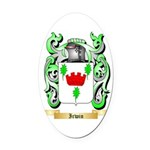 Irwin Oval Car Magnet