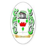 Irwin Sticker (Oval)