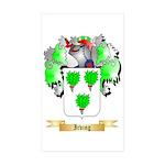 Irving Sticker (Rectangle 50 pk)