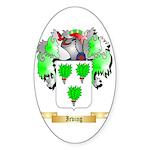 Irving Sticker (Oval 50 pk)