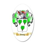 Irving 35x21 Oval Wall Decal