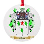 Irving 2 Round Ornament