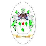 Irving 2 Sticker (Oval 10 pk)