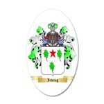 Irving 2 35x21 Oval Wall Decal